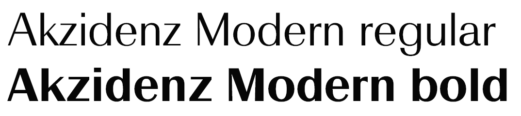 Akzidenz Modern image #1